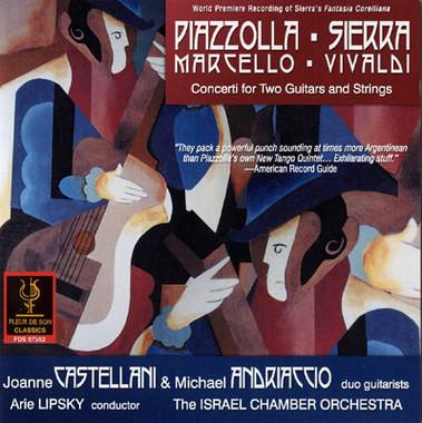 Caption: CD Castellani-Andriaccio Duo, Credit: Fleur du Son Records