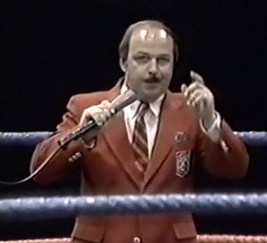 Caption: Gene Okerlund
