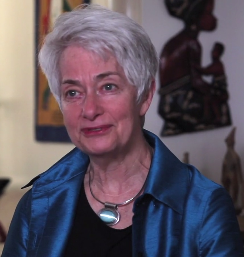 Caption: Heather Booth, founder of the Jane Collective, Credit: from the documentary about her by Lilly Rivkin.