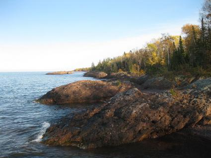 Caption: Lake Superior surface water temperatures are rising in recent decades, Credit: Joe Friedrichs