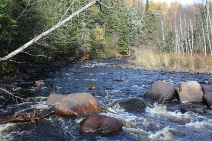 Caption: All rivers along the North Shore could feel the impacts of climate change, Credit: Joe Friedrichs