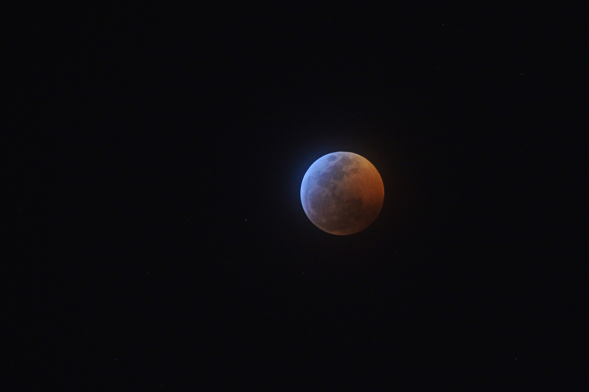 Caption: 2019 Lunar Eclipse, Credit: Chance Kafka via Flickr