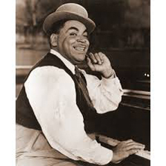 "Caption: Thomas ""Fats"" Waller"