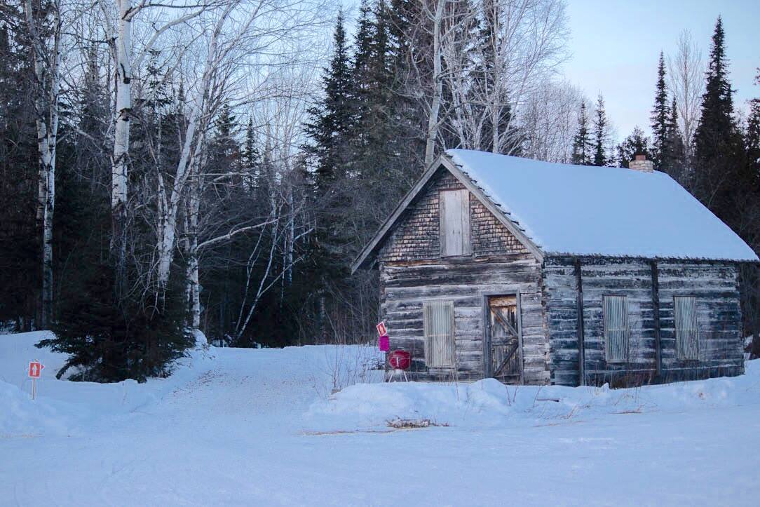 Caption: The cabin at Mineral Center, Credit: Lisa Johnson
