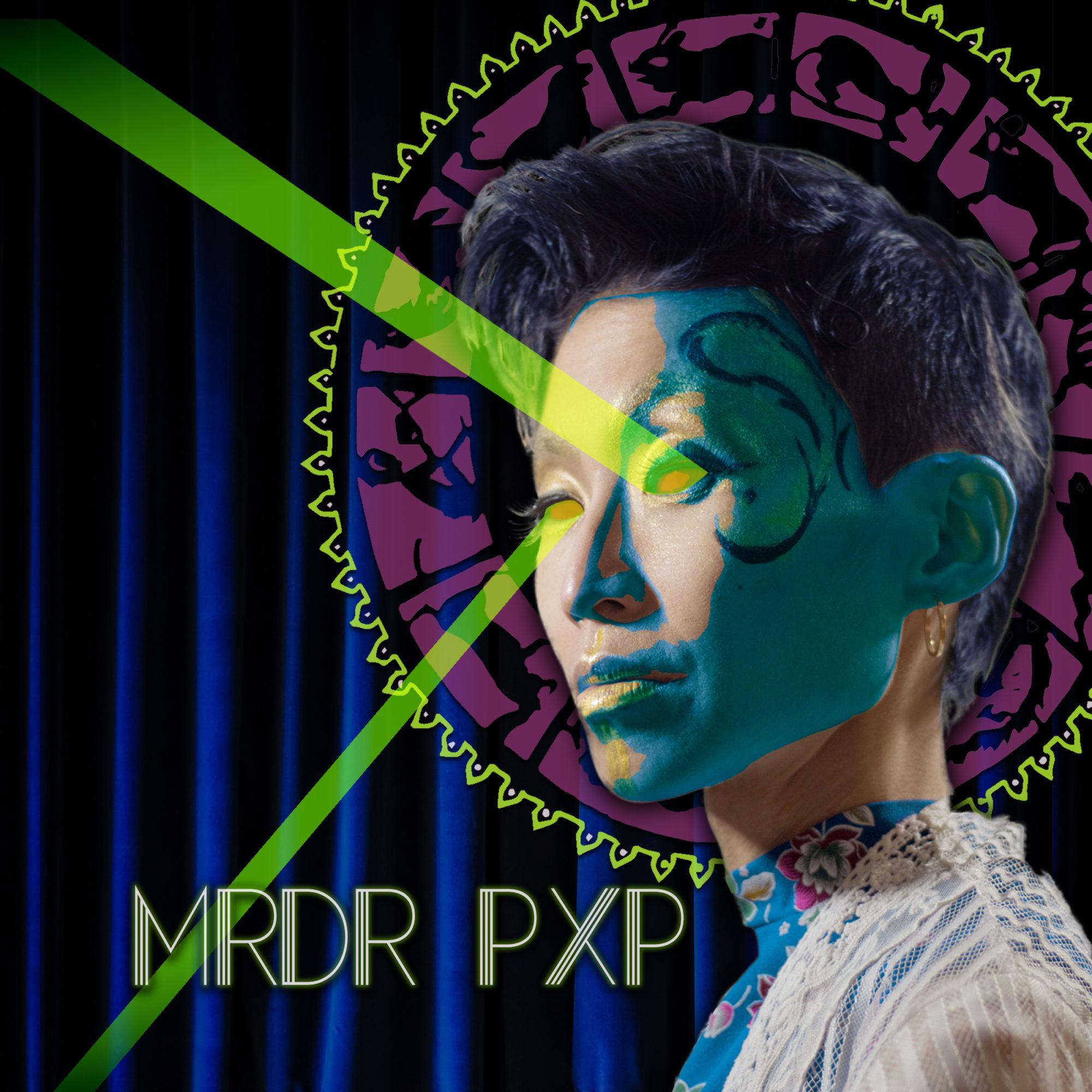 Caption: Mayda's new album is called MRDR PXP., Credit: Cameron Yang, Styling by: Oskar Ly, Editing: by Sara Beth-Horishnyk.