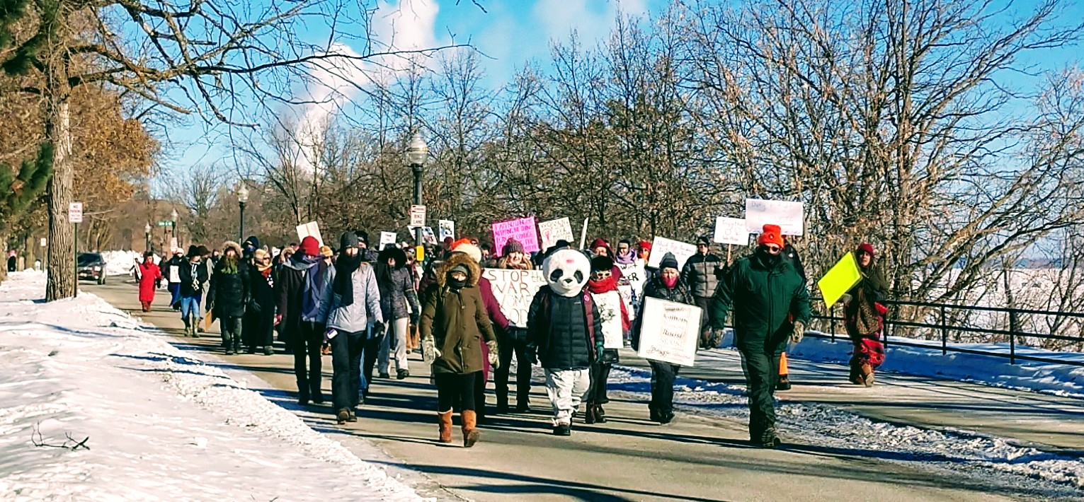 Caption: Bemidji Women's March 2019, Credit: Katie Carter