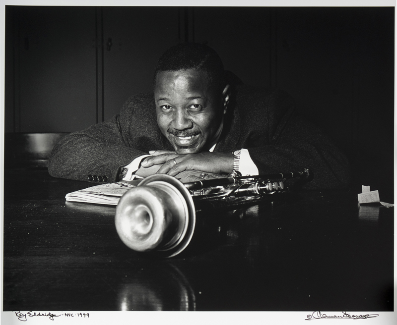 Caption: Roy Eldridge