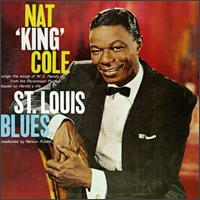 "Caption: Nat King Cole's 1948 album ""St. Louis Blues"""