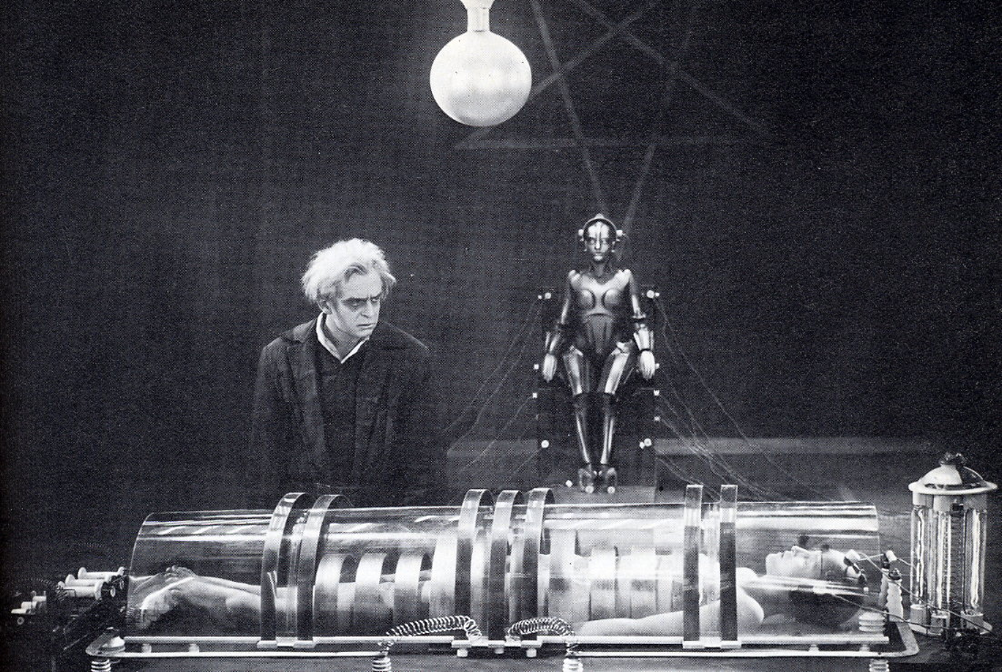 Caption: Still from the 1927 movie Metropolis