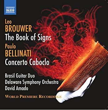 Caption: Book of Signs CD cover, Credit: Naxos Records