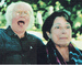 "Caption: ""Robert Bly & Gioia Timpanelli"