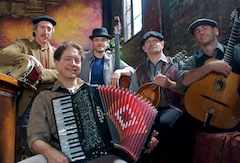 Caption: Cafe Accordion Orchestra, Credit: Jim Dryden