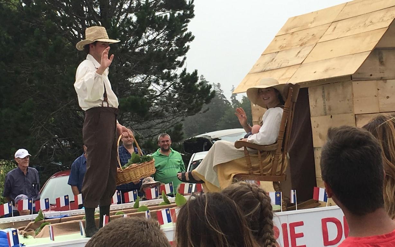 Caption: Acadian Festival
