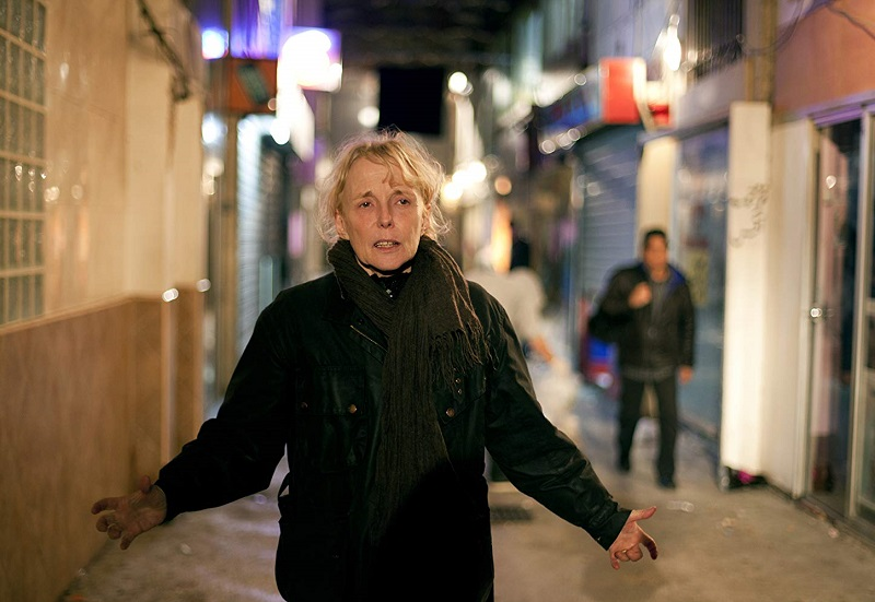 Caption: Filmmaker Claire Denis