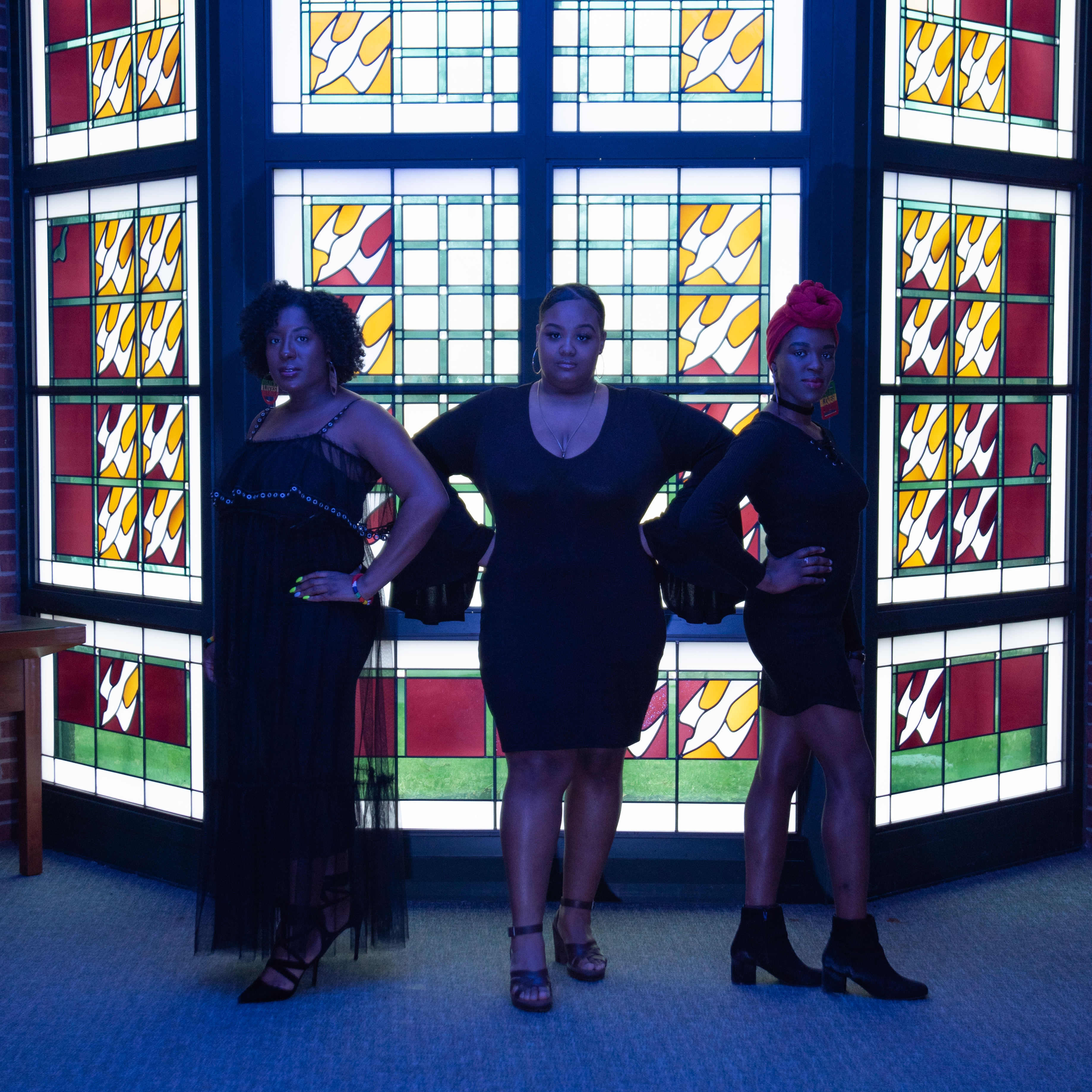 Caption: Syracuse-based gospel trio A New Generation Eternally Lifting Souls (A.N.G.E.L.S) sing because they want to pay tribute to victims of shootings in Syracuse, but they also want to make us aware of a larger problem., Credit: Brianna Green