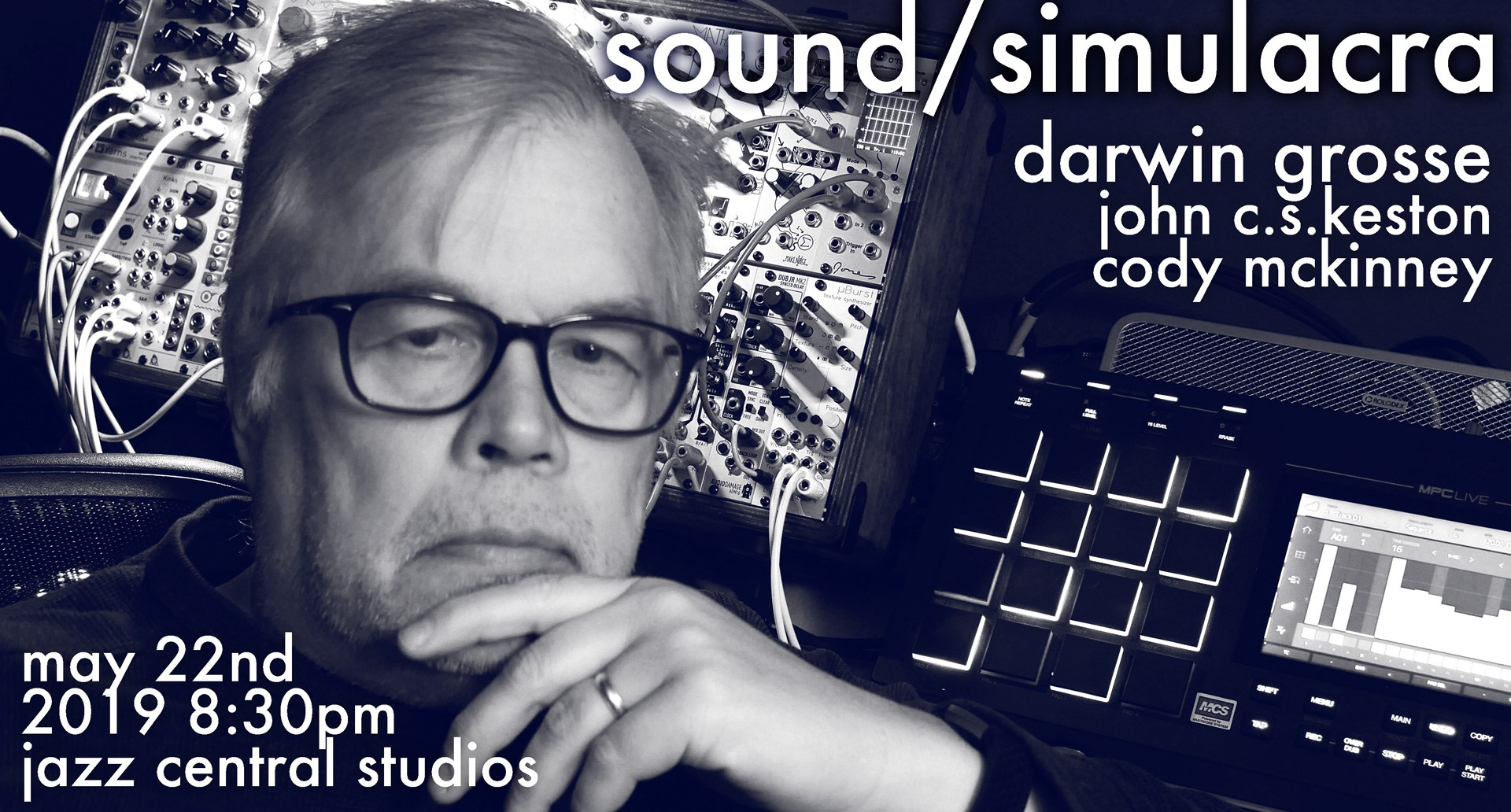 Caption: Sound Simulacra Poster, Credit: Darwin Grosse