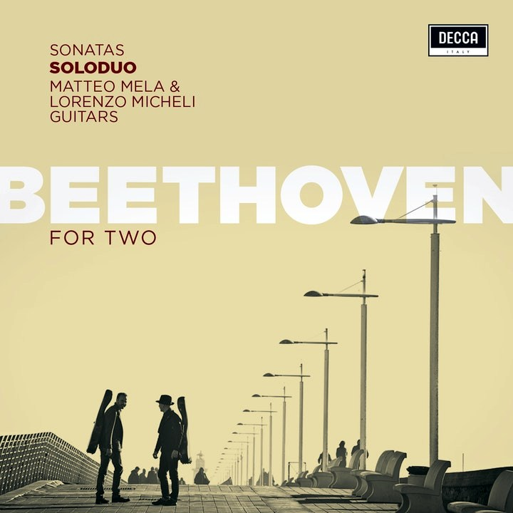 Caption: SoloDuo CD Beethoven for Two, Credit: Decca Records