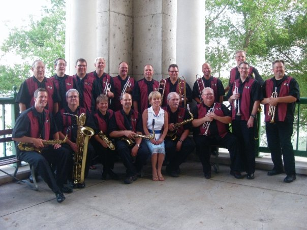 Caption: Bend in the River Big Band, Credit: Paul Rippe