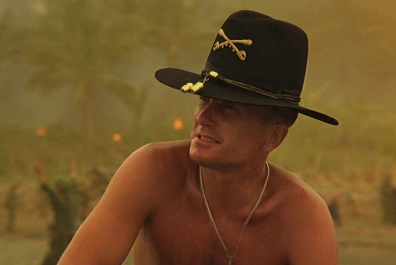 Caption: Robert Duvall in 'Apocalypse Now' (1979)