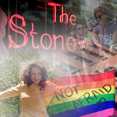 "Caption: June 2019 Pride Month marks the 50th Anniversary of the Stonewall uprising. In ""Stonewall 50"" WFUV News explores the events leading up to the night of June 28, 1969 and the past five decades of the LGBTQIA+ movement., Credit: Photos: AP Images, Creative Commons; Collage: Valeria Villarroel"