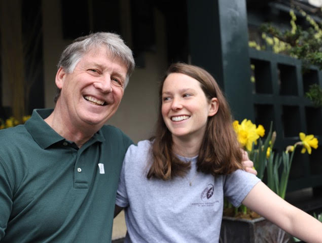 Caption: Robert Hanss and his Daughter Catherine