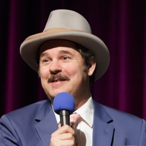 Caption: Paul F. Tompkins on Live Wire, Credit: Jennie Baker