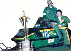Caption: Hall of Fame Racer Brian Nelson