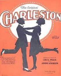 Caption: Charleston sheet music