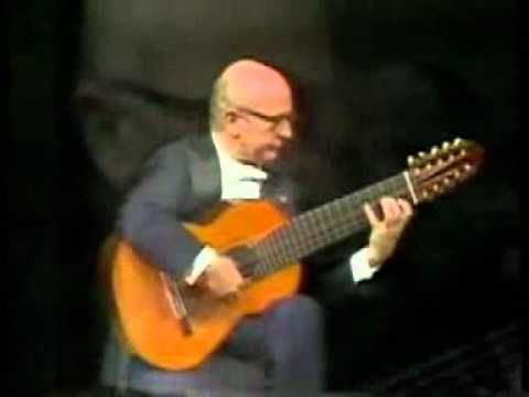 Caption: Guitarist Narciso Yepes