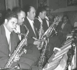 Caption: 1920s Saxophonists