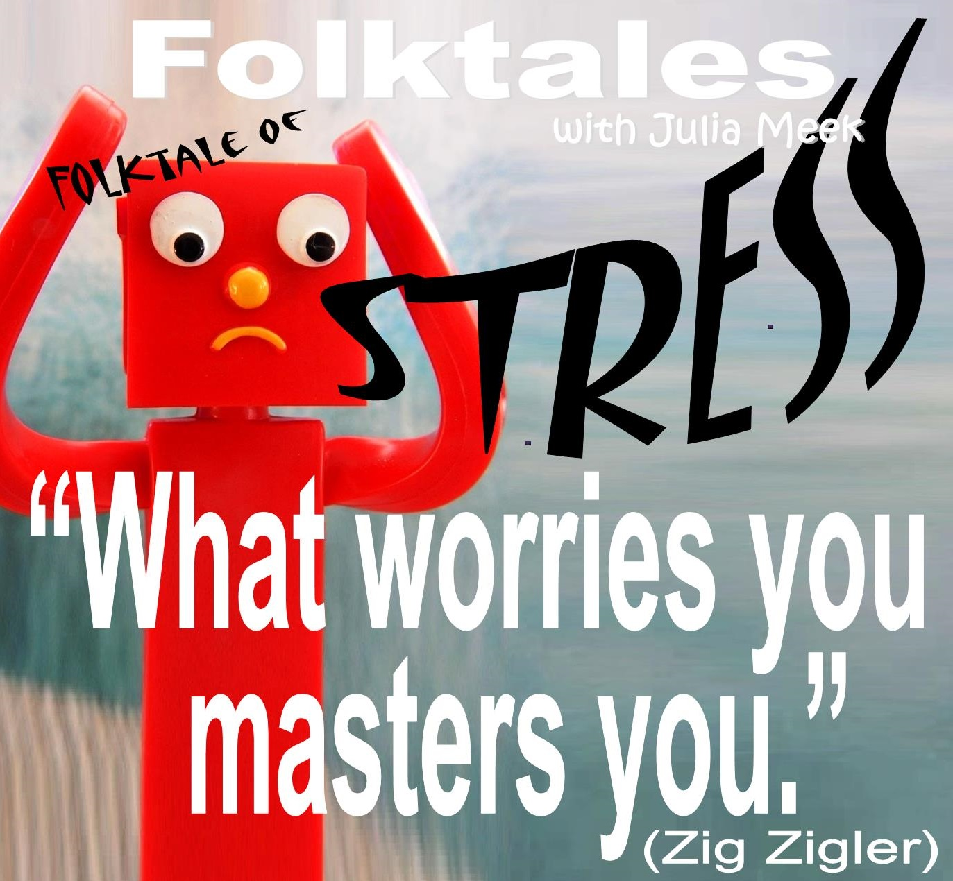 Caption: WBOI's Folktale of Stress, Credit: Julia Meek