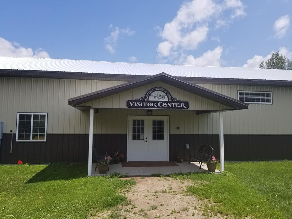 Caption: Marshall County Historical Society's Visitor Center