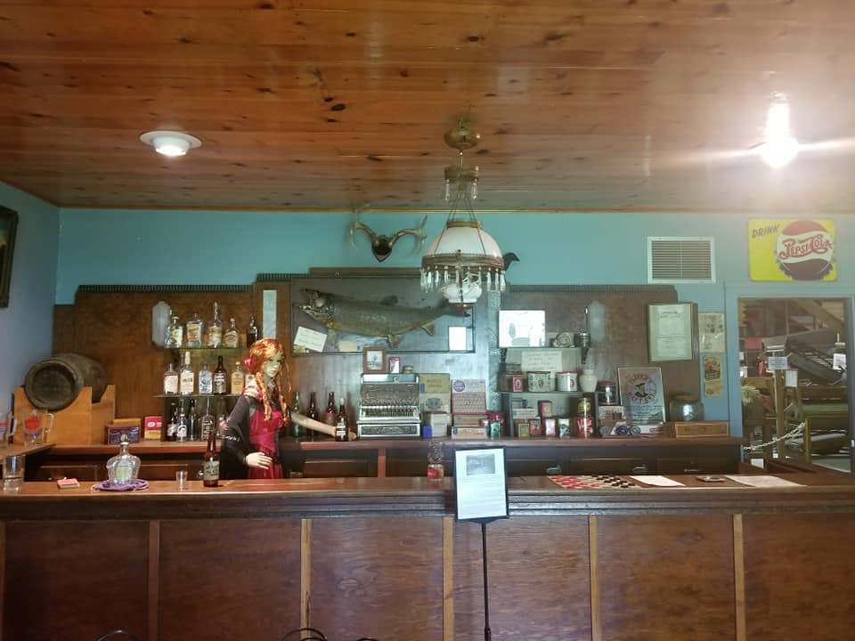 Caption: Inside the Saloon at Settlers Square, Credit: Glen Braget