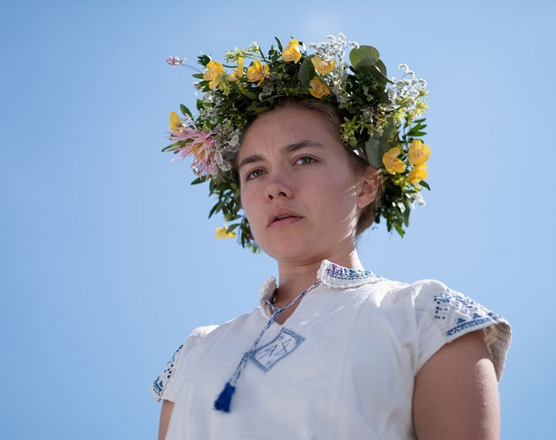 Caption: Florence Pugh in 'Midsommar'