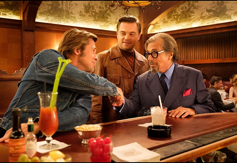 Caption: Leonardo DiCaprio, Brad Pitt and Al Pacino star in Quentin Tarantino's 'Once Upon A Time...In Hollywood'