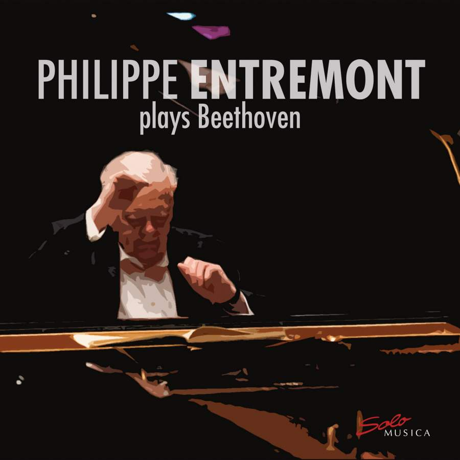 Caption: Philippe Entremont's latest Beethoven release, Credit: Solo Musica