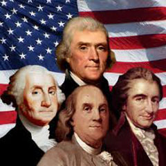 Caption: Founding Fathers images