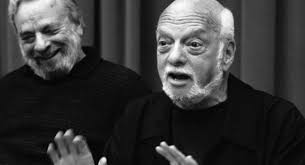 Caption: Hal Prince & Stephen Sondheim