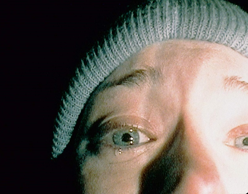 Caption: Heather Donahue in 'The Blair Witch Project' (1999)
