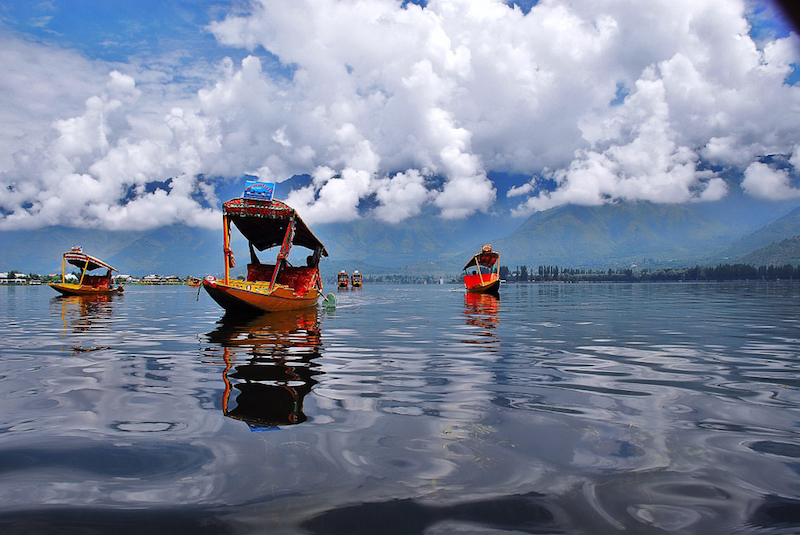 Caption: Dal Lake in Kashmir, Credit: By Basharat Shah - Flickr: Dal Lake, CC BY 2.0