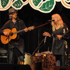 Caption: Over the Rhine returns to the WoodSongs Stage.