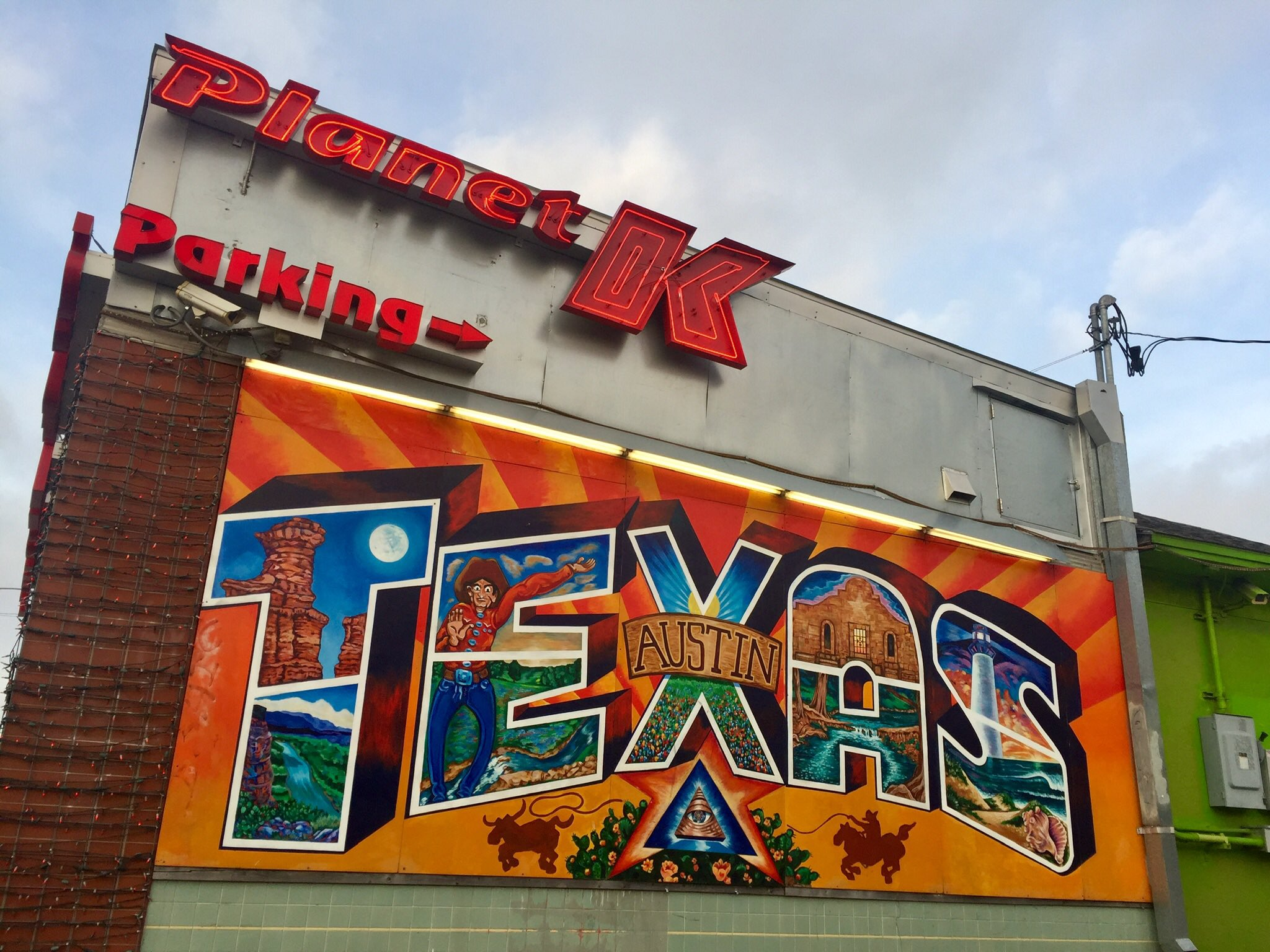 Caption: A mural near the University of Texas at Austin., Credit: Austin Fast