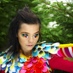 Caption: Bjork