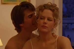 Caption: Tom Cruise and Nicole Kidman in Stanley Kubrick's 'Eyes Wide Shut' (1999)