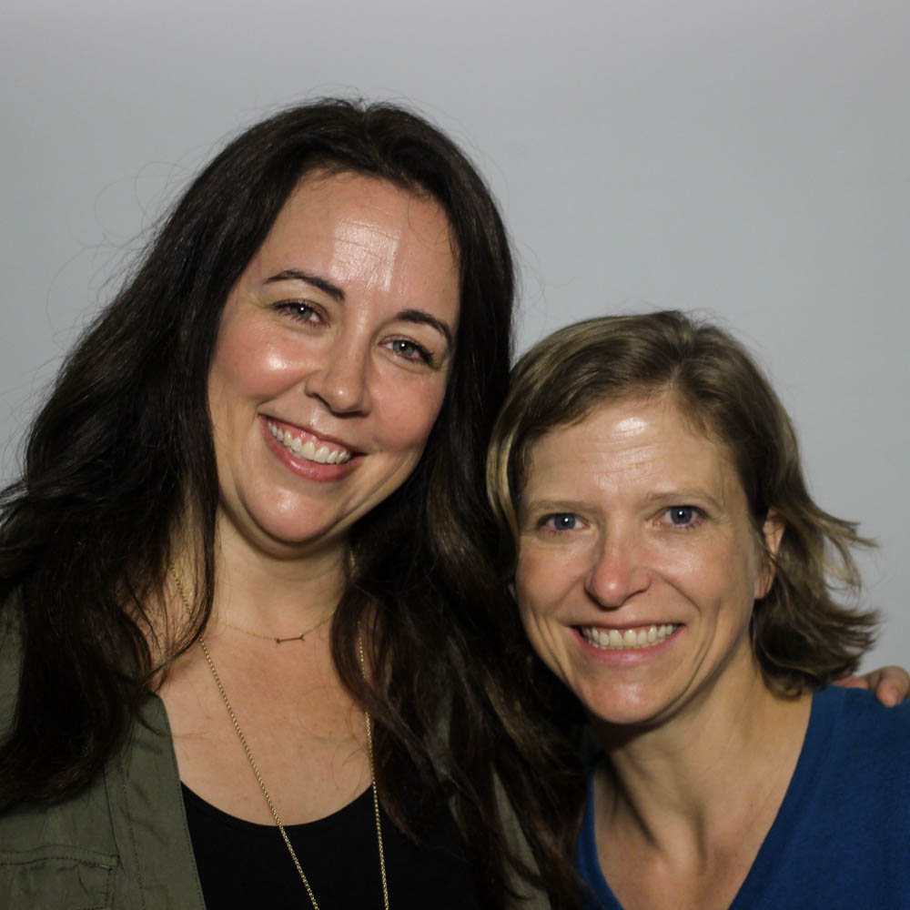 Caption: Kristin Sollars and Marci Ebbers at their StoryCorps interview in Orlando, FL on May 21, 2019., Credit: By Emilyn Sosa for StoryCorps.