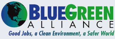 Caption: BlueGreen Alliance