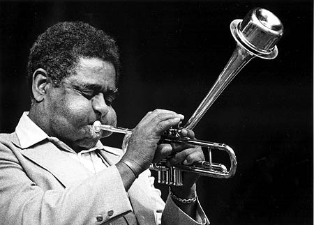 Caption: Dizzy Gillespie