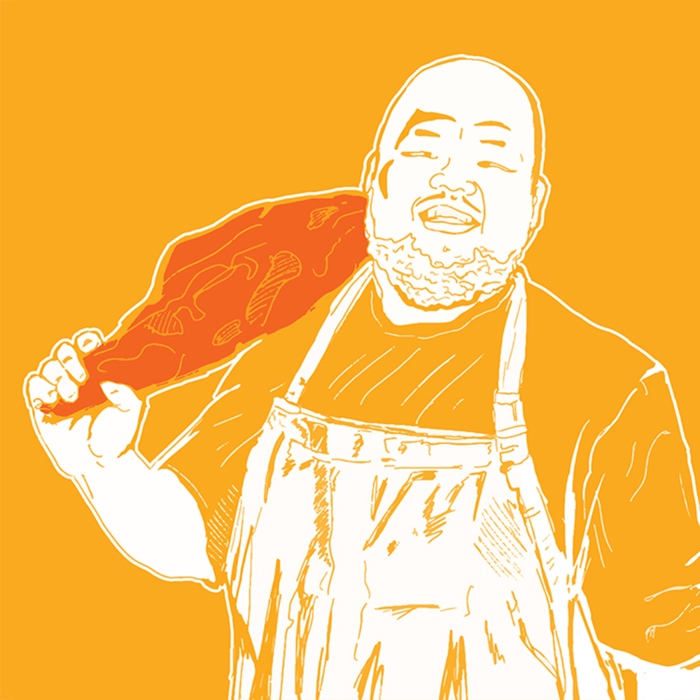 Caption: Chef Yia Vang, Credit: Erin Cahanes