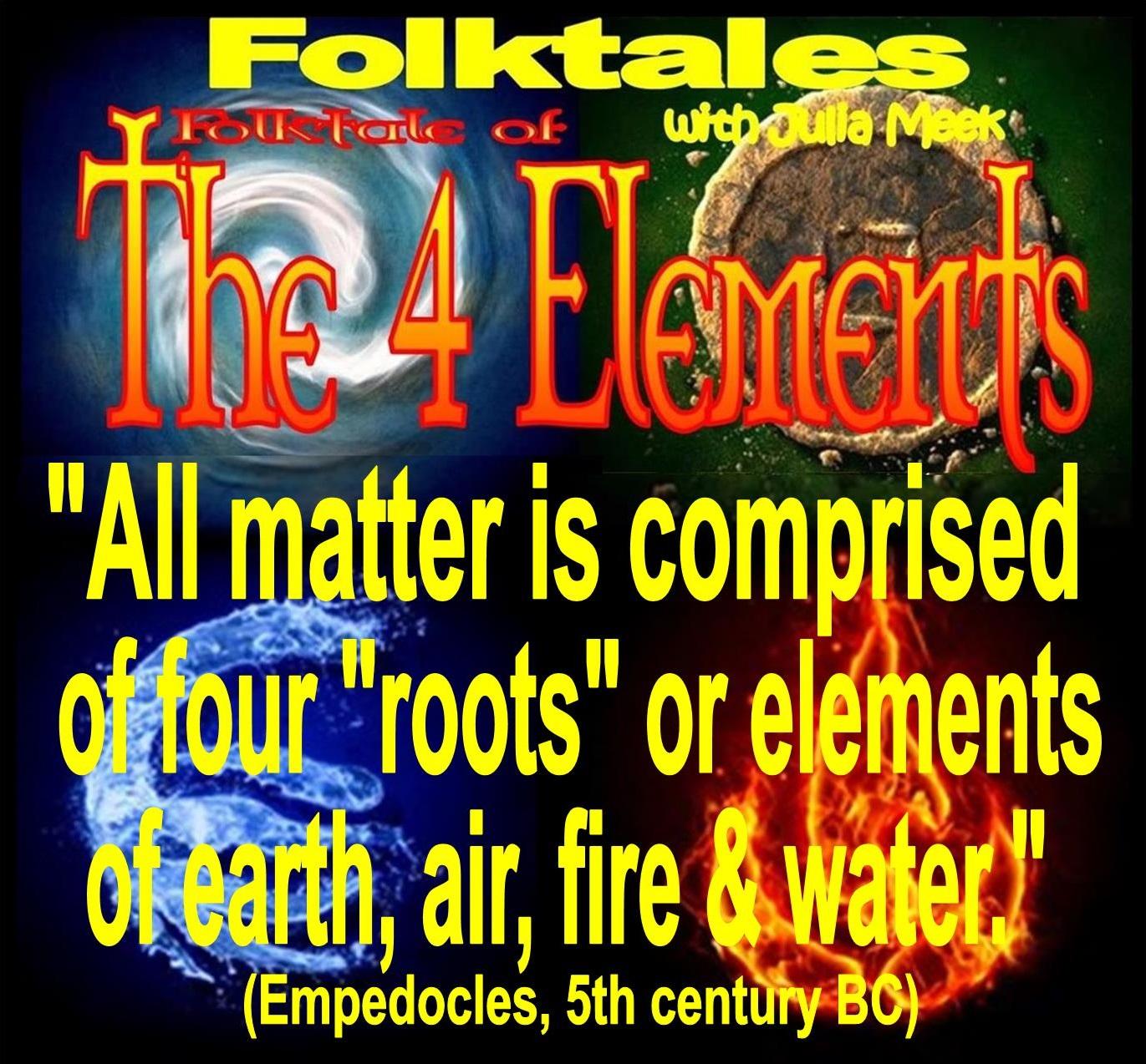 Caption: WBOI's Folktale of The 4 Elements, Credit: Julia Meek