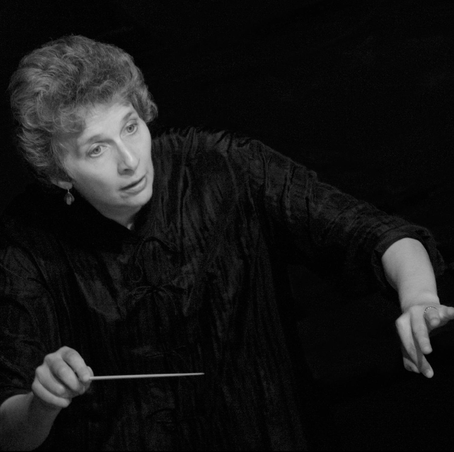 Caption: Music of the Baroque Music Director, Jane Glover, Credit: Ken Howard